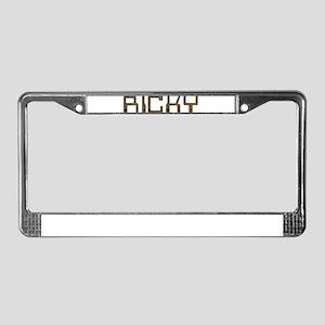 Ricky Circuit License Plate Frame