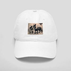 French Bulldog Eliz. Pair Cap