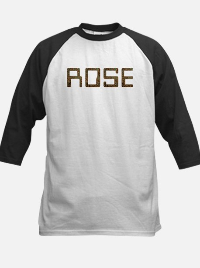 Rose Circuit Kids Baseball Jersey