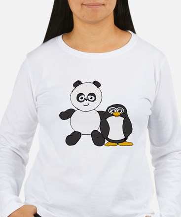 Panda and penguin T-Shirt