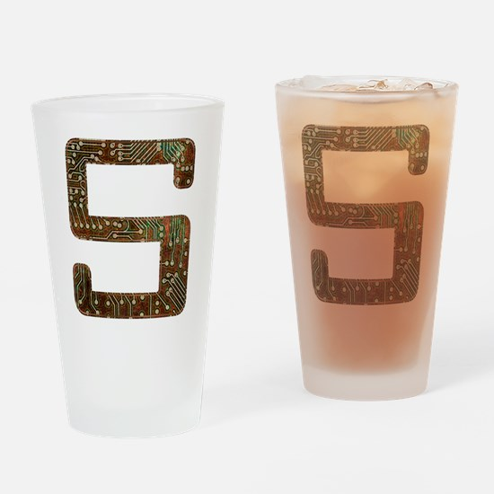 S Circuit Drinking Glass