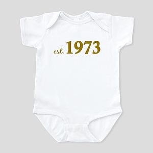 Est 1973 (Born in 1973) Infant Bodysuit