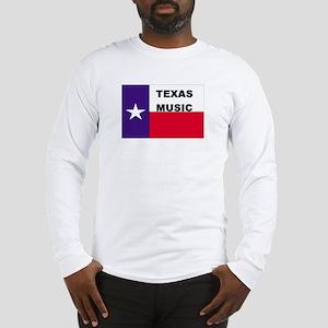 Texas Music Long Sleeve T-Shirt
