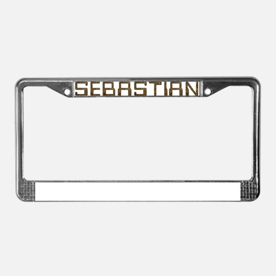 Sebastian Circuit License Plate Frame