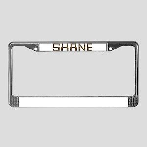 Shane Circuit License Plate Frame