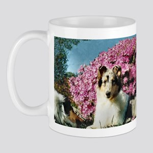 Blue Merle Collie Mug