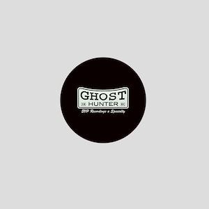 Ghost Hunter EVP Black Mini Button