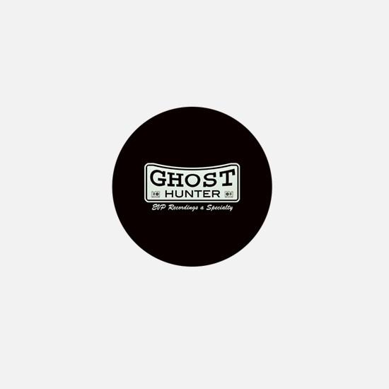 Ghost Hunter EVP Black Mini Button