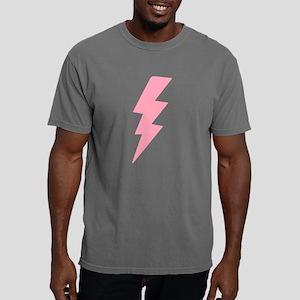 White x Pink Lightning  Mens Comfort Colors Shirt