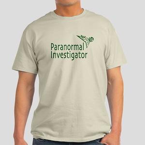 Paranormal Investigator Light T-Shirt