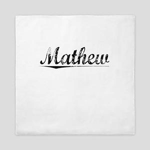 Mathew, Vintage Queen Duvet