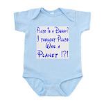 Pluto: Dwarf or Planet? Infant Creeper