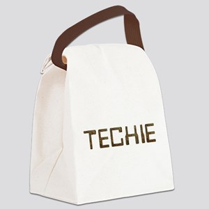 Techie Circuit Canvas Lunch Bag