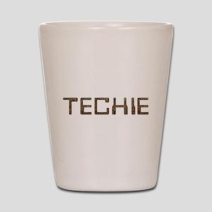 Techie Circuit Shot Glass