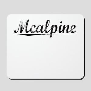 Mcalpine, Vintage Mousepad