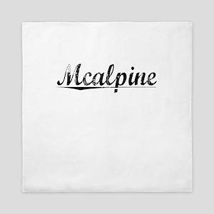Mcalpine, Vintage Queen Duvet
