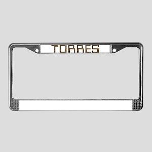 Torres Circuit License Plate Frame
