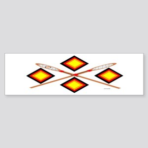 SOUTHEAST TRIBAL STICKBALL Sticker (Bumper)