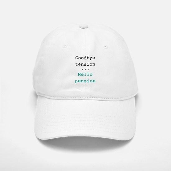 Goodbye tension Baseball Baseball Cap