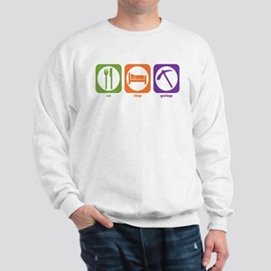 Eat Sleep Geology Sweatshirt