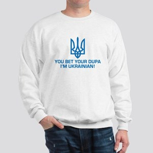 Funny Ukrainian Dupa Sweatshirt