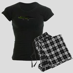 Caiman Women's Dark Pajamas