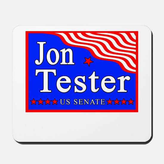 Montana Jon Tester US Senate Mousepad