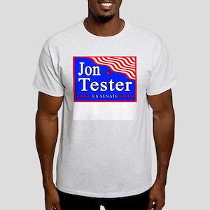 Montana Jon Tester US Senate Ash Grey T-Shirt
