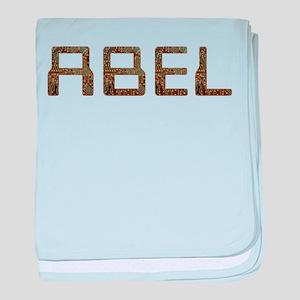 Abel Circuit baby blanket