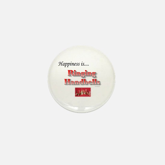 Happiness Is... Mini Button