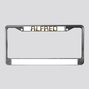 Alfred Circuit License Plate Frame