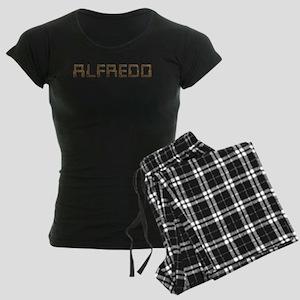 Alfredo Circuit Women's Dark Pajamas