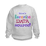 Your Favorite Data Source Kids Sweatshirt