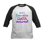 Your Favorite Data Source Kids Baseball Jersey