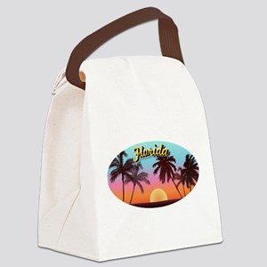 Sunshine State Canvas Lunch Bag