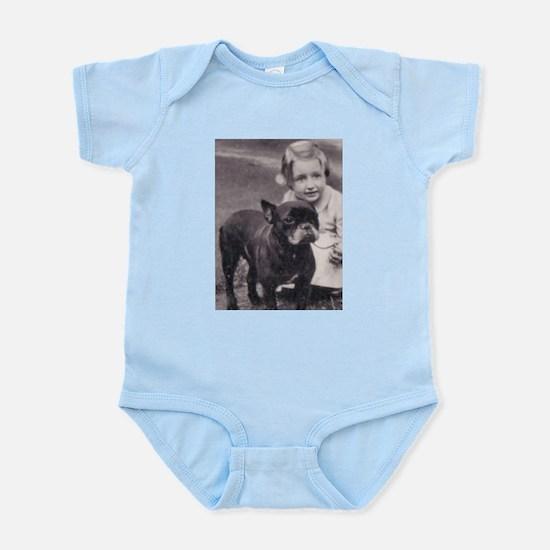 French Bulldog & Child Infant Creeper