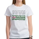 Dysfunctional logo on a women's T-Shirt