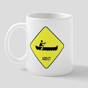 Canoeing Addict Mug