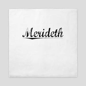 Merideth, Vintage Queen Duvet