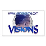 Visions Rectangle Sticker