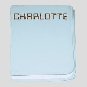 Charlotte Circuit baby blanket