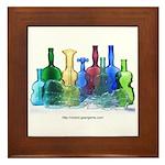 Violin Bottles Photo #1 Framed Tile