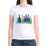 Violin Bottles Photo #1 Jr. Ringer T-Shirt