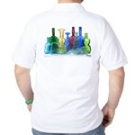 Violin Bottles Photo #1 Golf Shirt