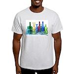 Violin Bottles Photo #1 Light T-Shirt