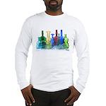 Violin Bottles Photo #1 Long Sleeve T-Shirt