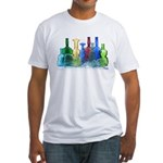 Violin Bottles Photo #1 Fitted T-Shirt