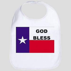 God Bless Texas Bib