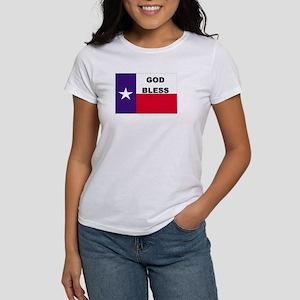 God Bless Texas Women's T-Shirt