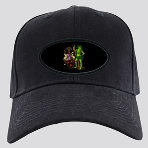 Shield Green Man Black Cap